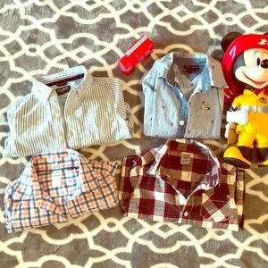 4 amazing button up shirts for your sweet toddler!